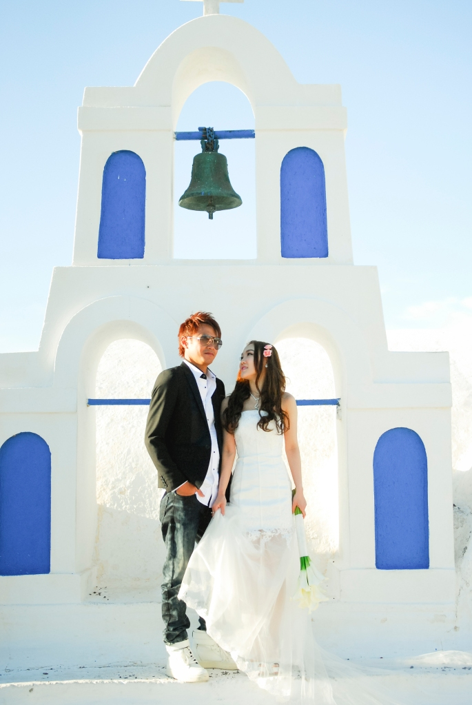 Engagement in Oia