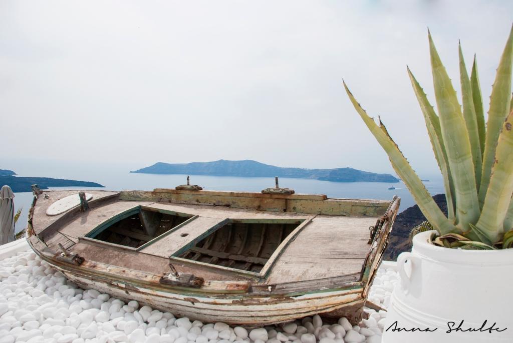 Santorini Photography Boat