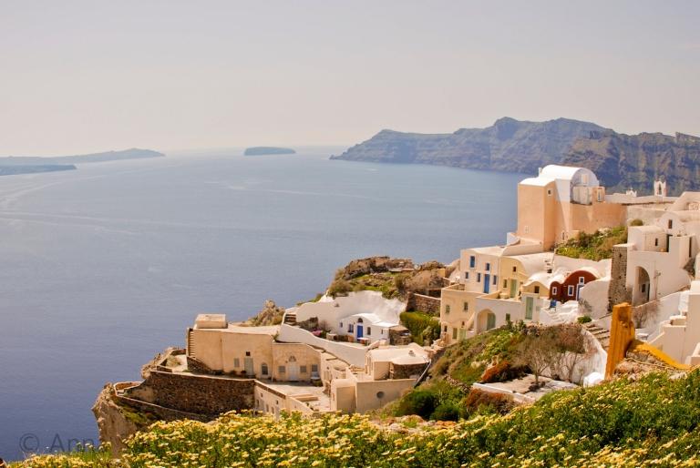 Greece, Santorini village Ioa