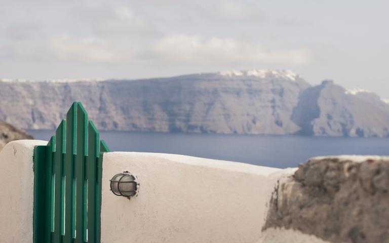 Greece, Santorini, village Oia.