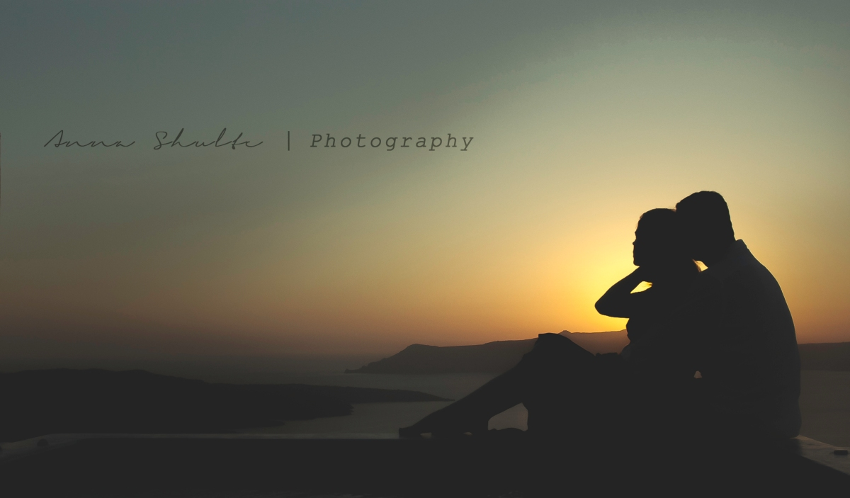 Santorini based Portrait Photographer Anna Shulte, Greece, Sunset