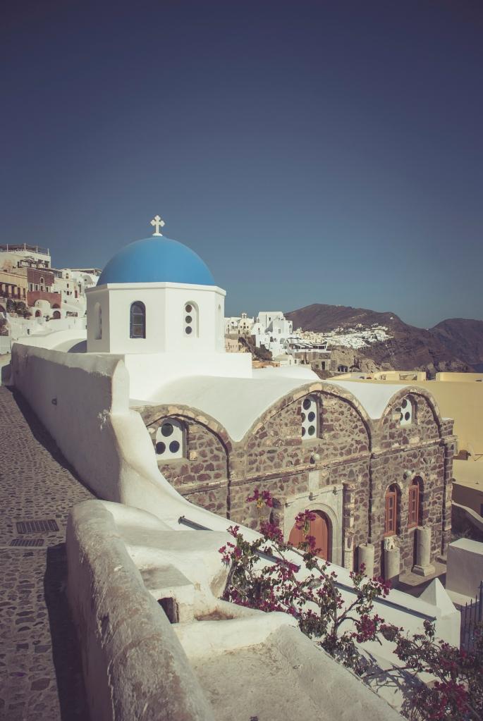 Oia village, Santorini. Greece