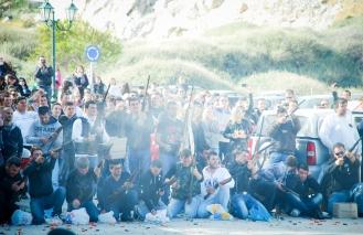 Greek tradition : Burning of Judas!
