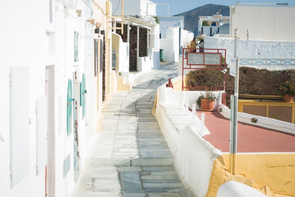 Oia street