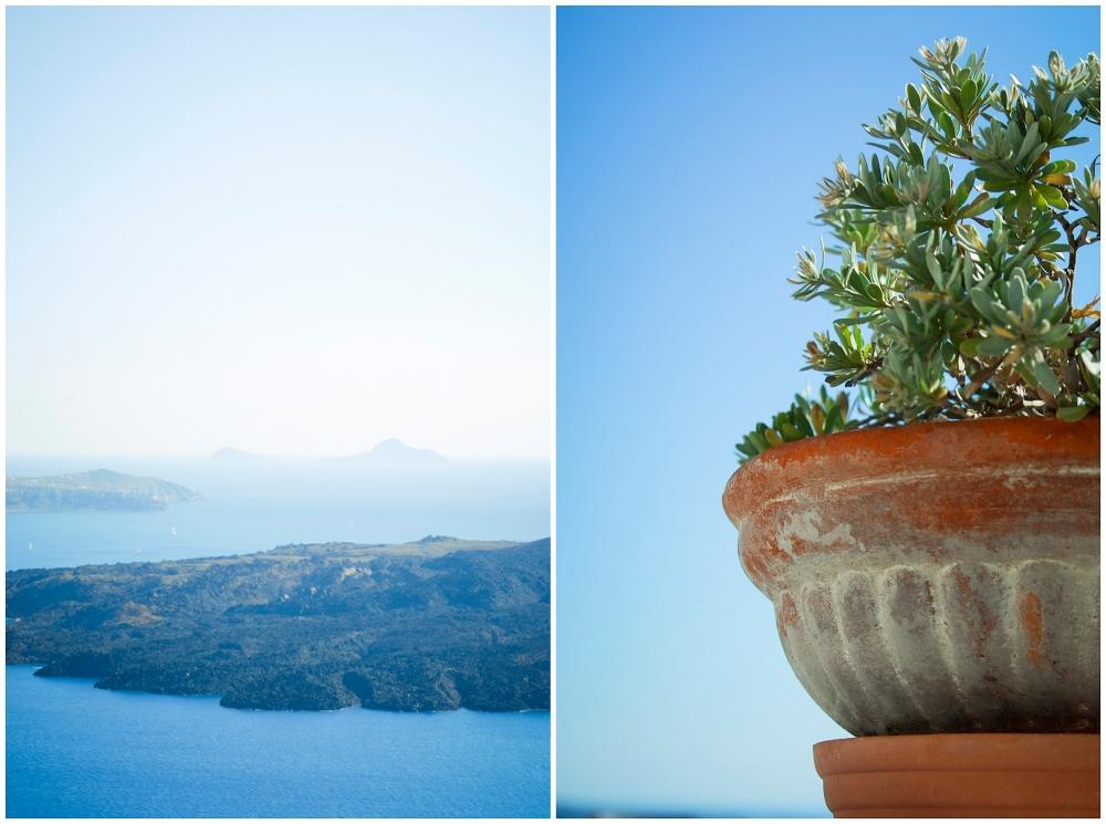 Santorini wedding photographer.