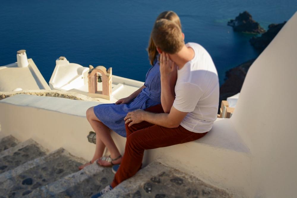 Santorini Oia photo shoot