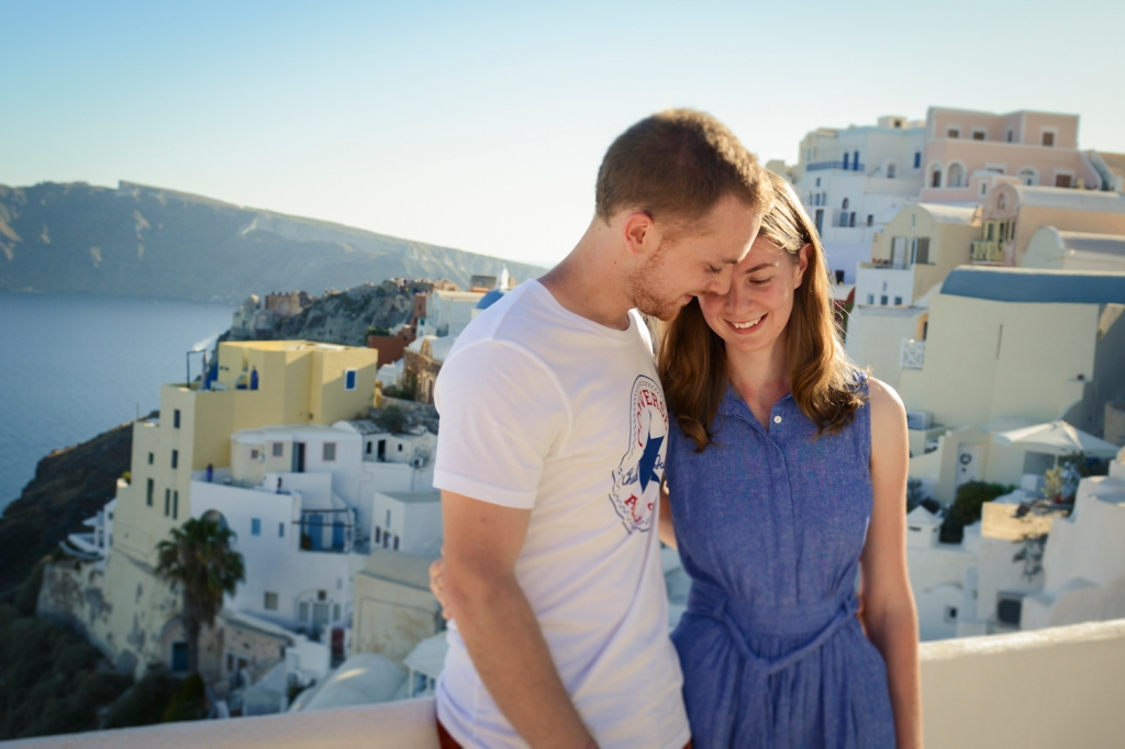 Santorini Oia photo shoot