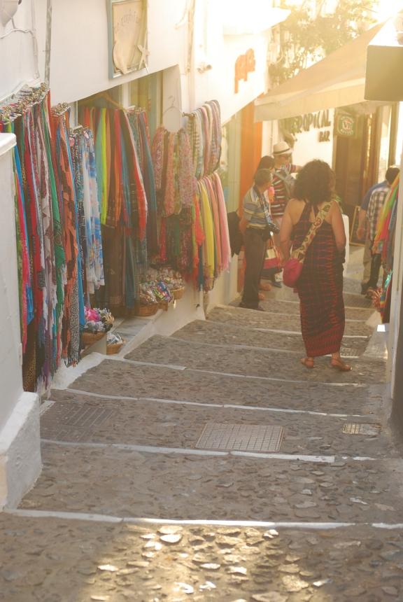 Street in Thira