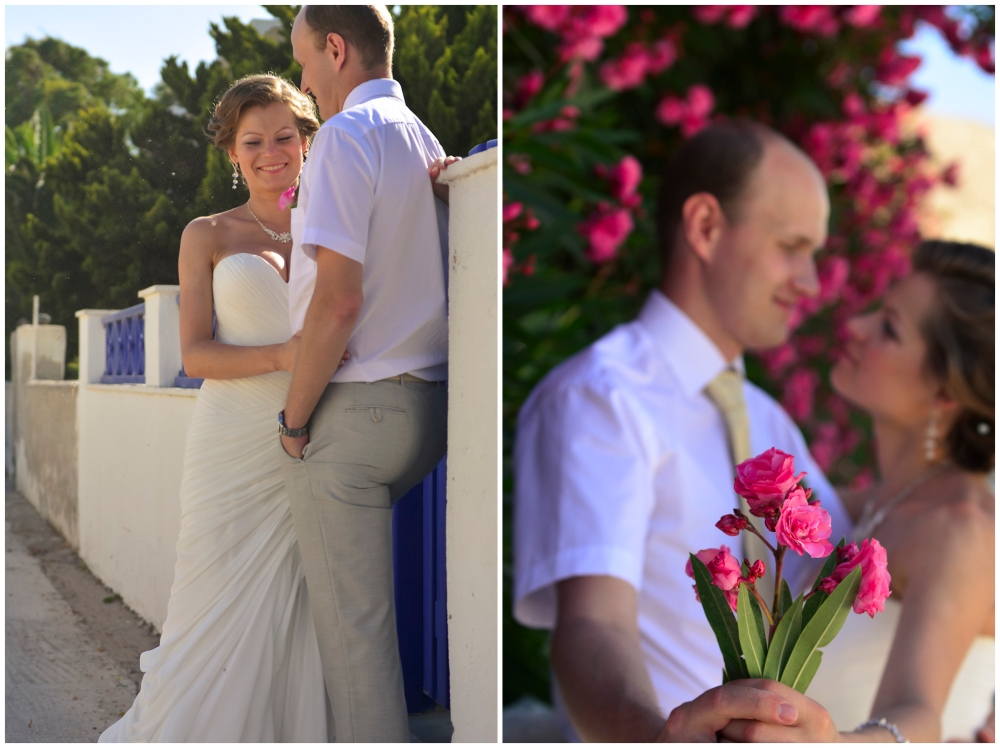 Couple portraits. Post-wedding photo shoot