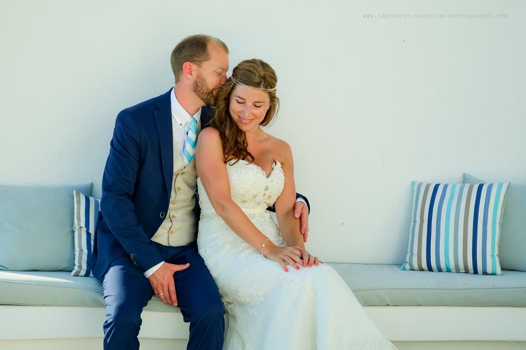 Post-wedding photo session