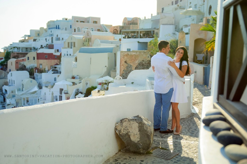 Photo session in Oia
