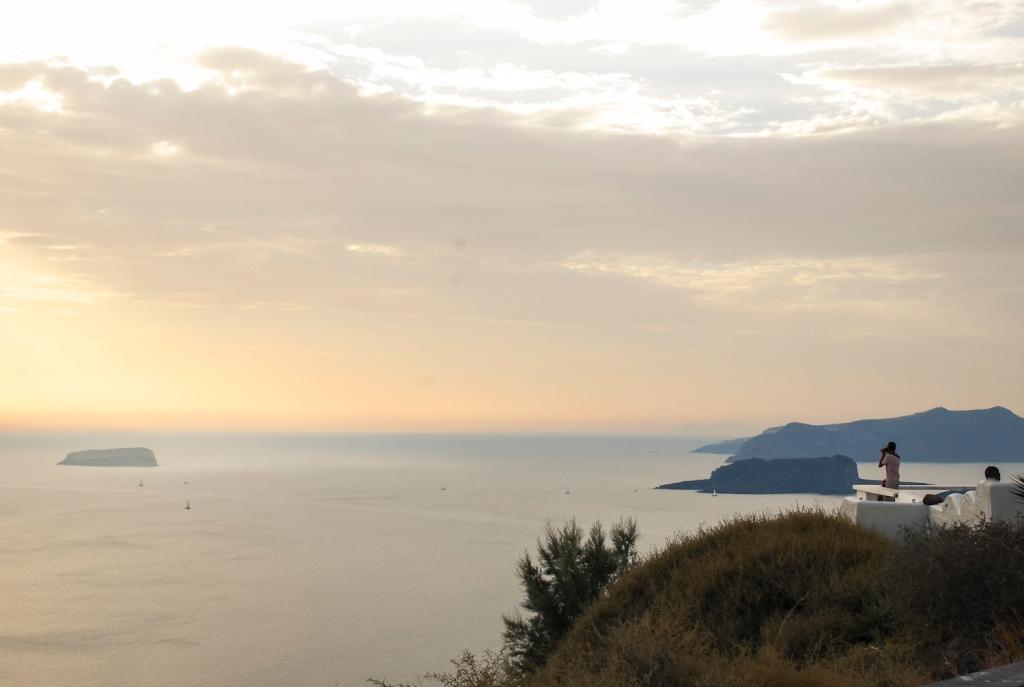 Santorini in Autumn