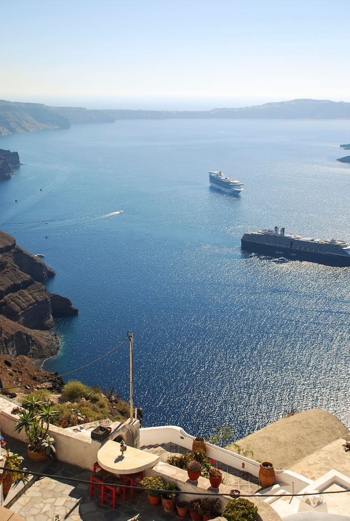 Santorini in Autumn