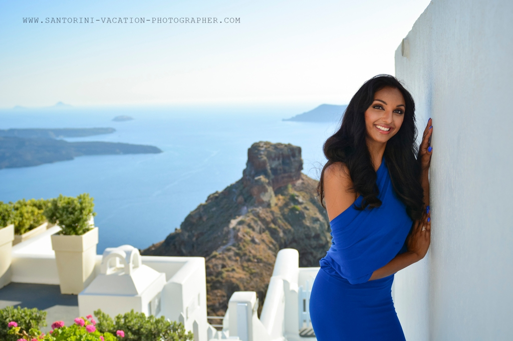 Santorini personal photo session.