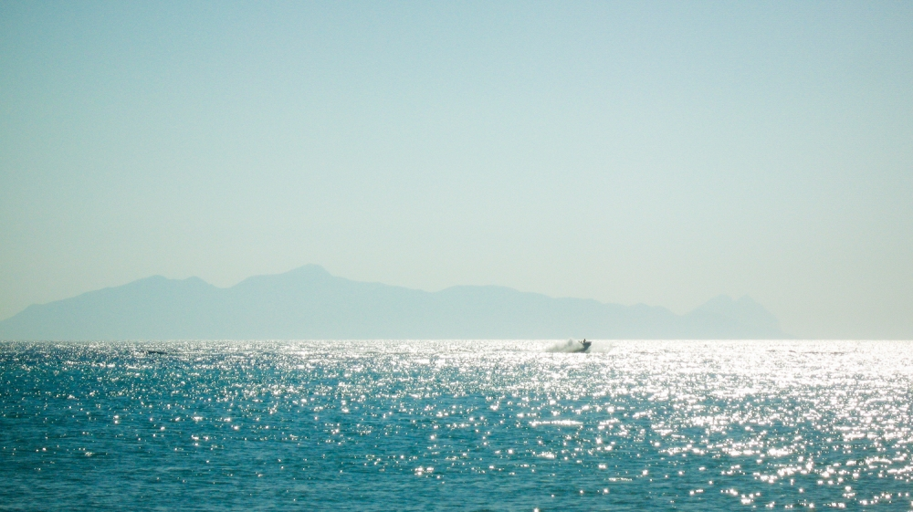 Perissa beach. Santorini.