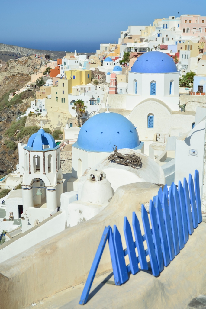Santorini blue church dooms