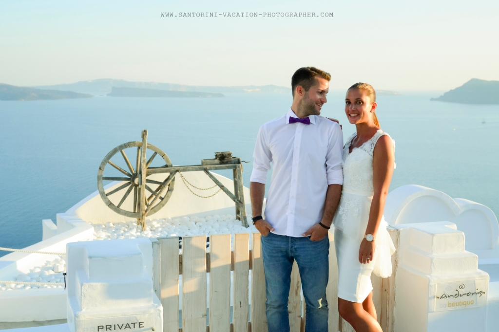 Santorini photo session with Anna Sulte.