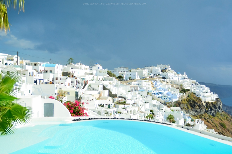 Santorini-Photo-session-October-storm-honeymoon-shoot