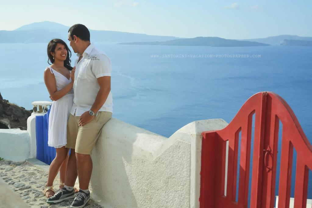 Destination Proposal in Santorini.