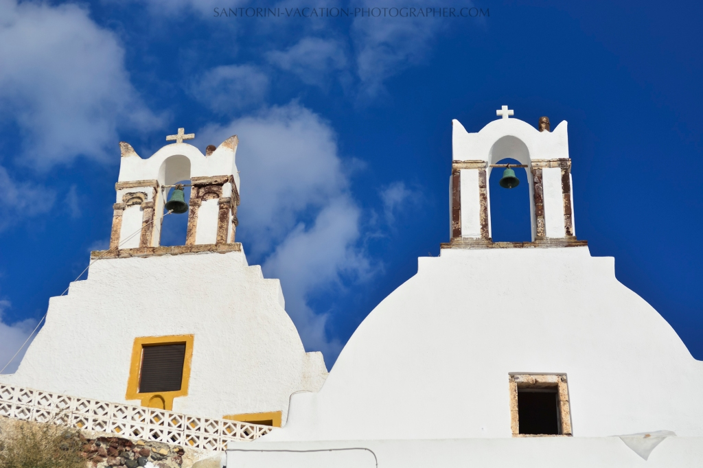 Santorini churches