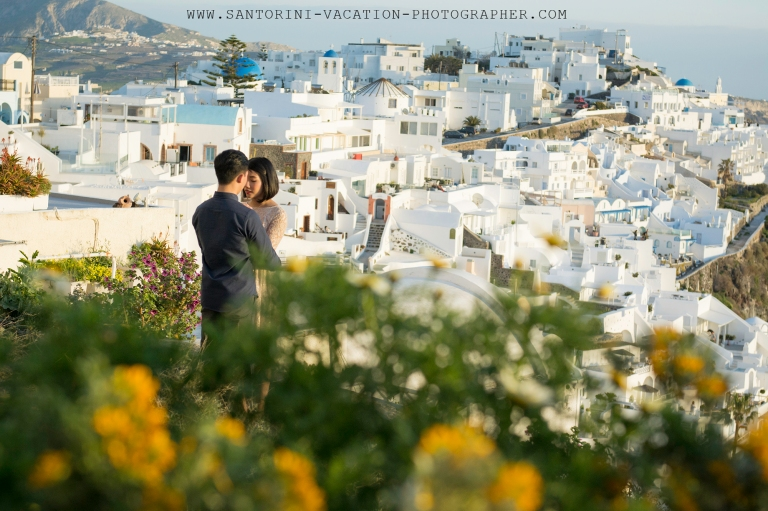 Santorini-sunset-pre-wedding-shoot-dreamy