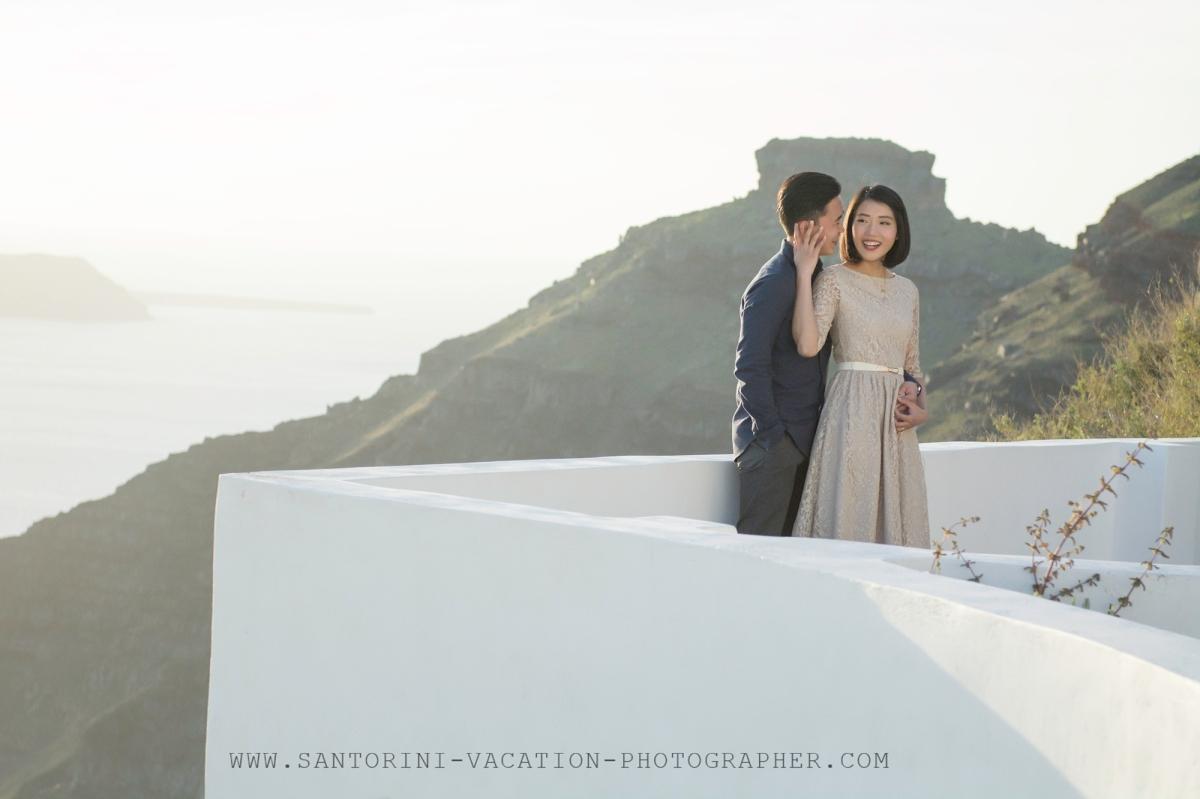 sunset-photo-shoot-Santorini-destination