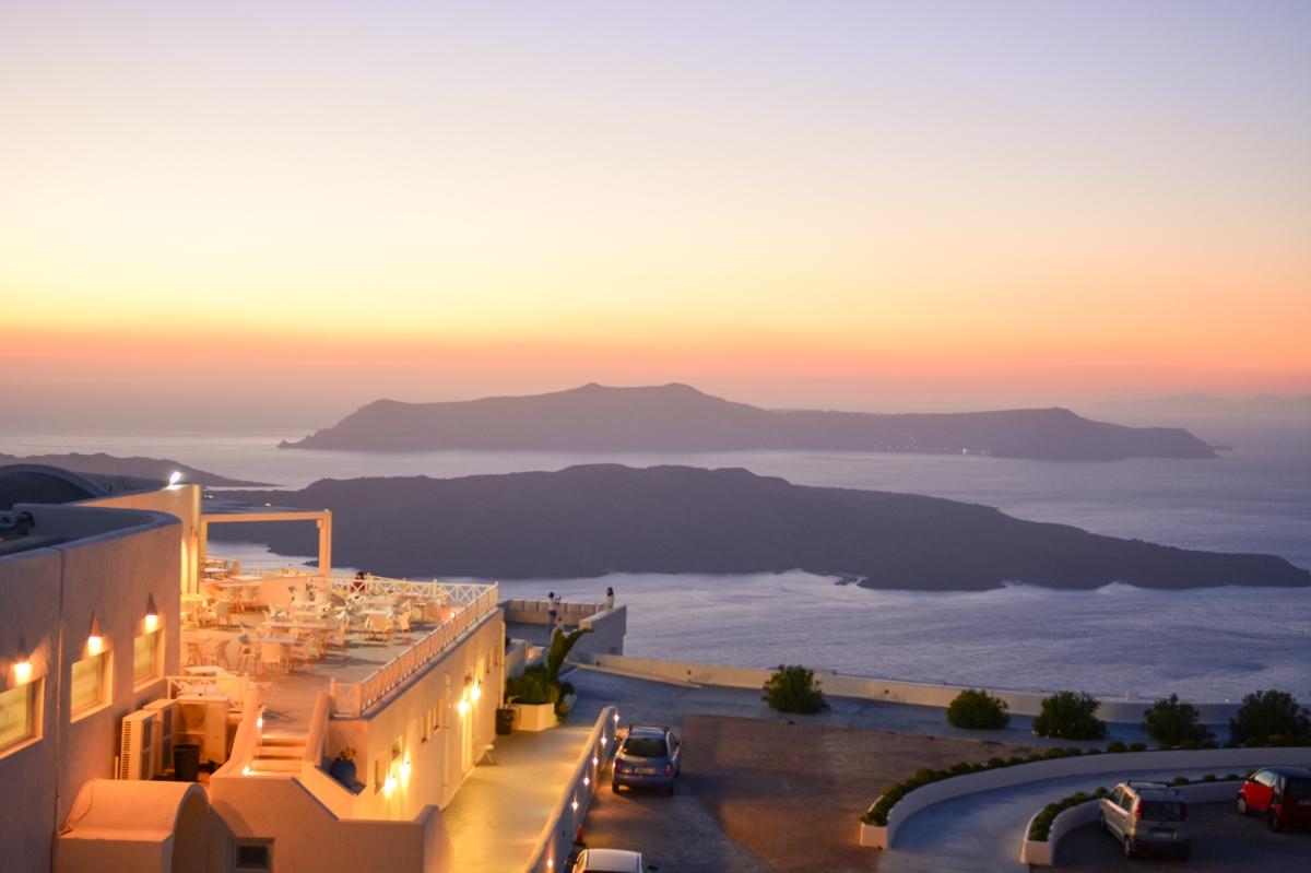 Santorini night life experience