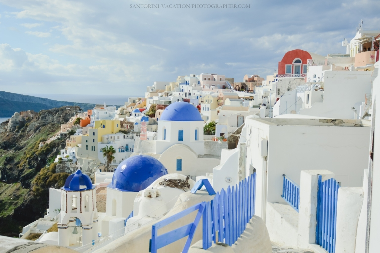 Santorini-facts-Oia-village-blue-churches