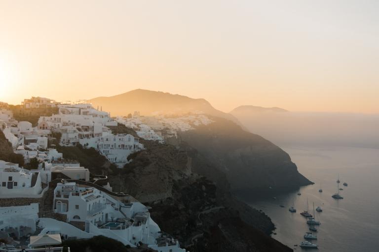 sunrise in Oia